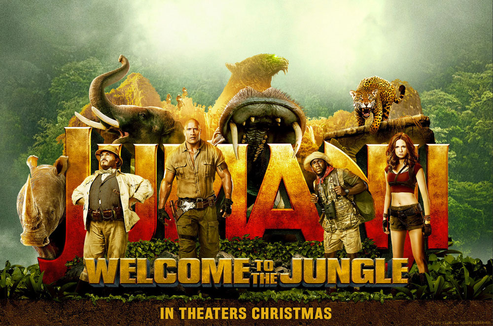 Watch Your Favourite Movie Jumanji: Welcome to the Jungle Online Free 123Movies