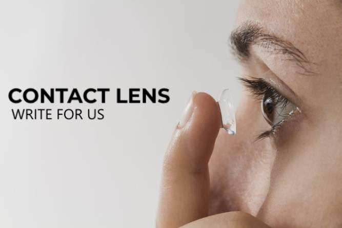 Contact lens write for us