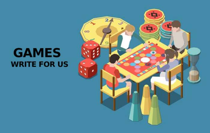 Games Write For Us