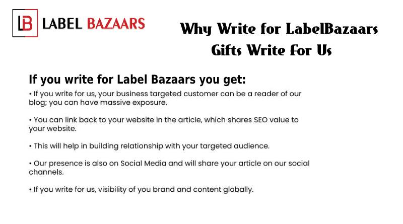 why write for Gift write for us