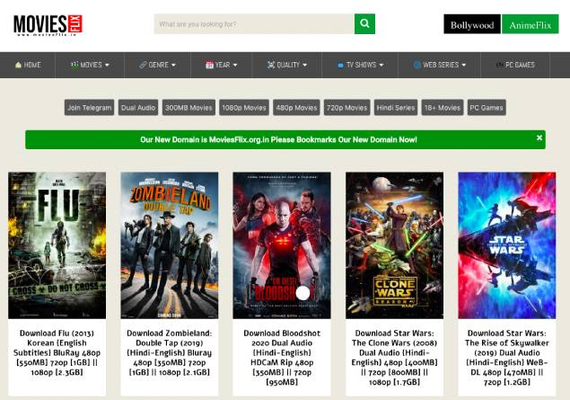 MovieFlix – Latest Online Movies & Web Series in HD, Free Download